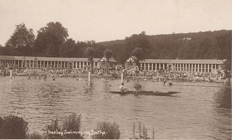 Henley Swimming Baths on the River - Wild Swimming