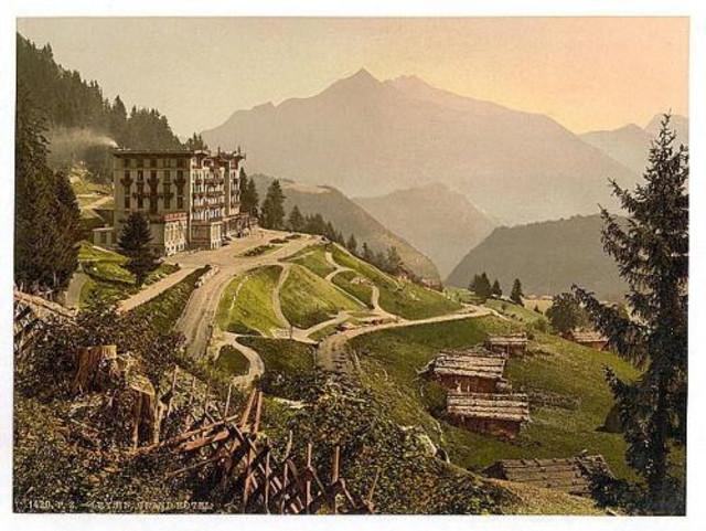 The Grand Hotel Lysin Switzerland