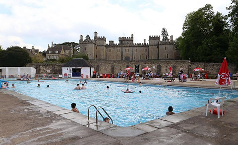 CIRENCESTER swimming history Lido