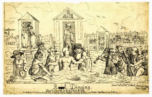 George III, bathed at Weymouth