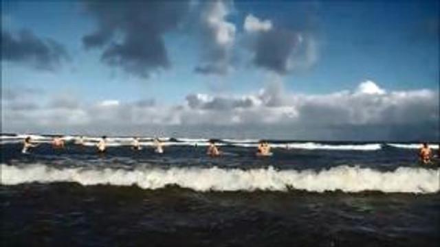 Christmas Day Swim Hayle Surf Life Saving Club 2012