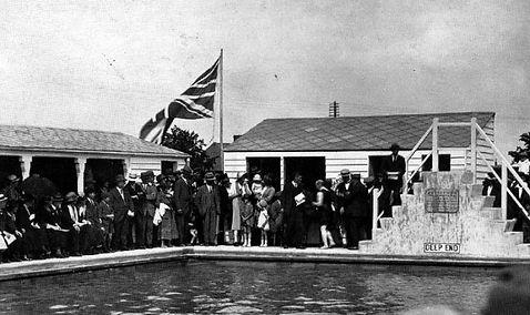 BURY ST EDMUNDS. Swimming History Westgate Street