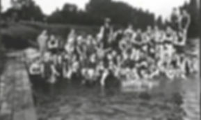 Mixed Bathing at Weybridge River Thames Wild Swimming History