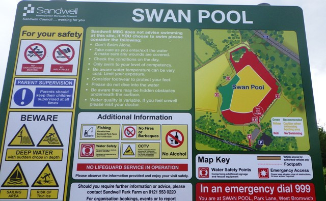 Swan Pool Birmingham Wild Swimming Lake