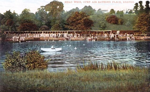 Open Air Bathing - Head Weir - Exeter