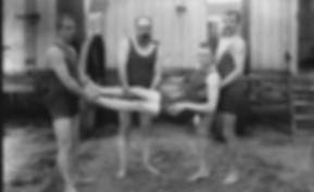 bathing machines Hartlepool  Swimming History