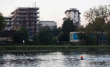 Wild Swimming in the Big City: West Reservoir Swimming