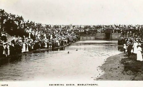 Swimming Exhibition Mablethorpe Wild Swimming History