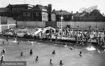 SHEERNESS Baths Swimming History