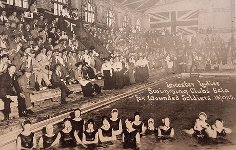 Swimming History Leicester, Spence Street Baths