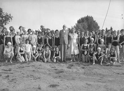 Swimming the Cam Cambridge Swim Through 1959