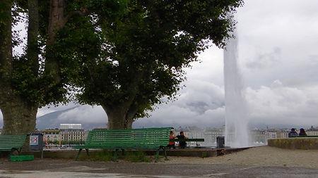 Wild Swimming Geneva Switzerland