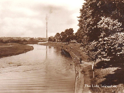 River Bathing Leicester Lido The History of Leicester