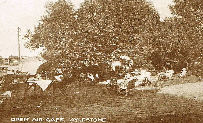Open Air Cafe, Aylestone Boathouse Hisrtory