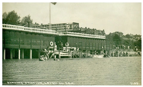 Bathing Pool, Leigh-on-Sea Swimming History