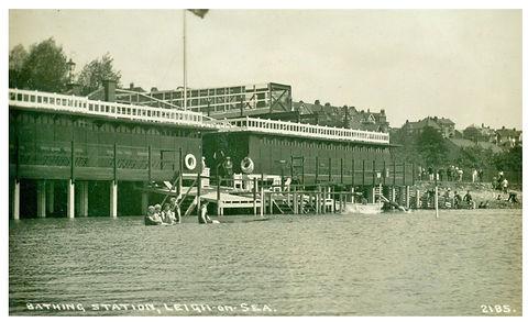 Bathing Pool, Leigh-on-Sea Swimming History