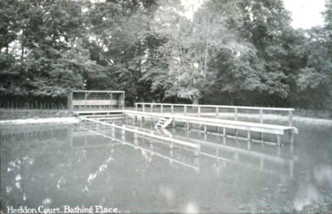 Heddon Court Bathing Place, 1912