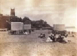 Cromer history beach bathing swimming