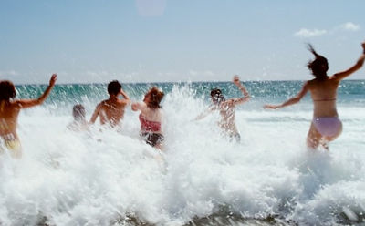 Swimming in the sea is perhaps the most dangerous wild swimming adventure...