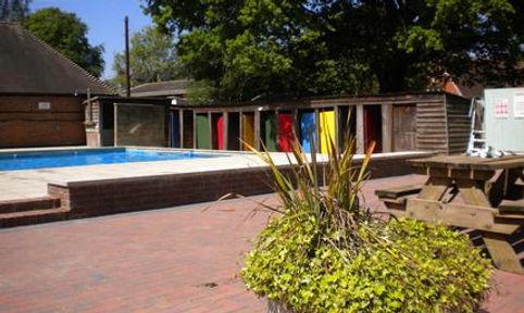 SHERE Public Bath, Church Field. Open-air. Swimming History