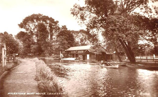 The history of Aylestone Boat house Leicester