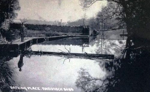 The Bathing Place at Radstock Swimming History