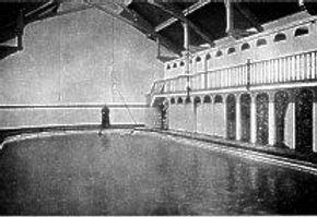 Victoria Street Baths Douglas Isle of Man Swimming History