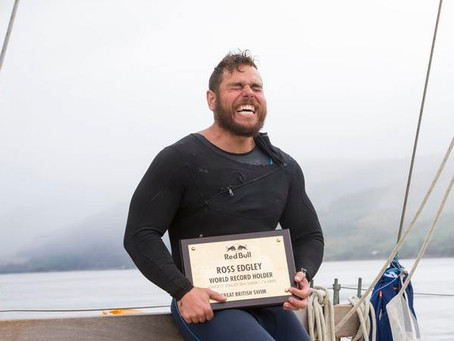 Ross Edgley's First Swimmer to Circumnavigate Great Britain.