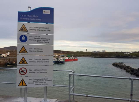 Why the Ban on Swimming at Malin Head Pier