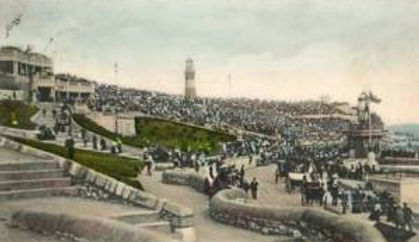 Swimming Event Spectators Plymouth Hoe 1903