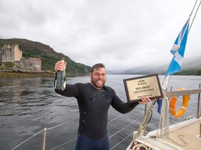 Man Breaks World Record – 74 Day Sea Swim Around British Mainland