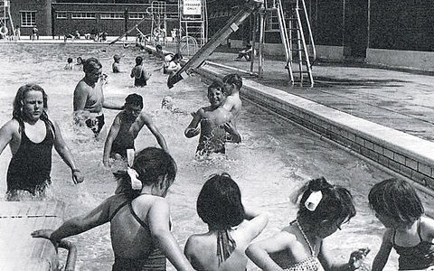 Parliament Hill Lido 1965