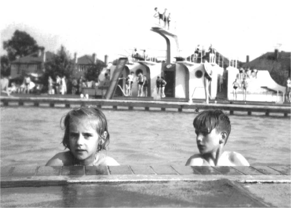 Swimming History in Leicester Kenwood Lido