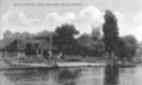 Bathing Pavilion Staines Swimming History