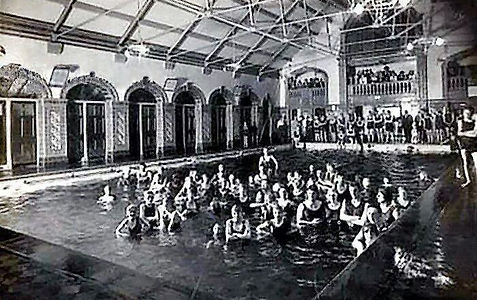 Lister Drive Baths Liverpool Swimming History