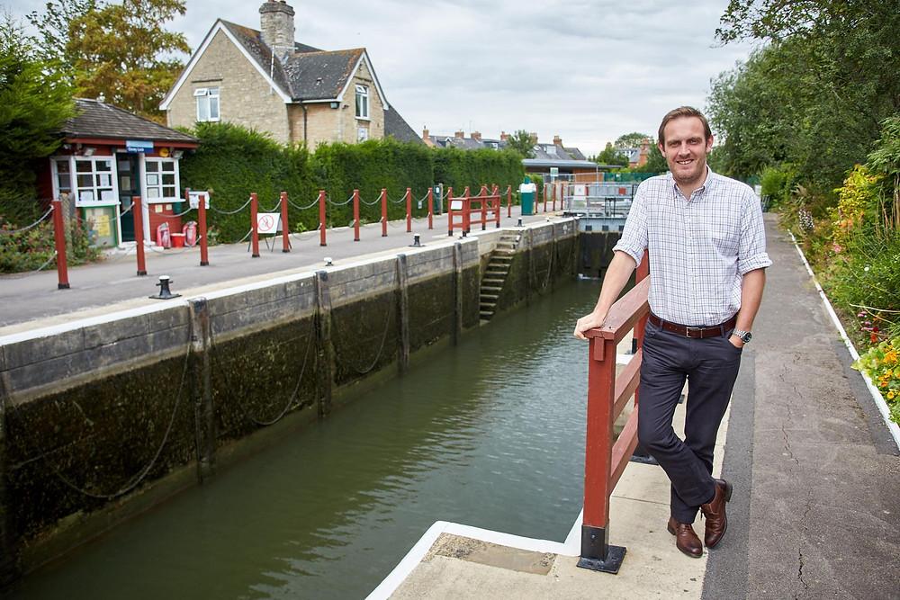 Ex-lockkeeper is planning a wild swim