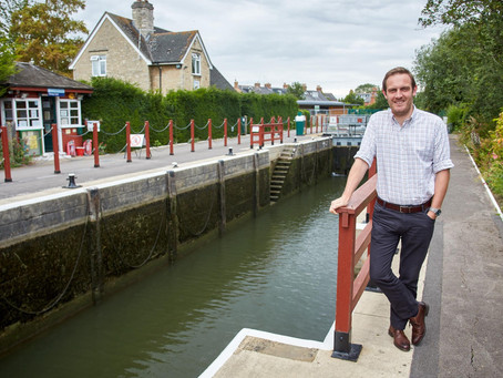 Ex-lockkeeper is planning a wild swim