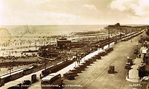Sea Swimming at Eastbourne History