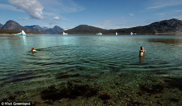 Wild Swimming Greenland