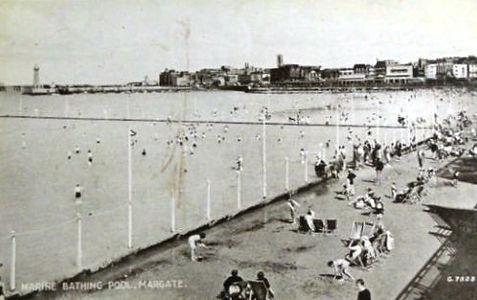 Marine Bathing Pool Margate Swimming History
