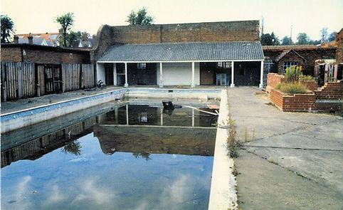 Farnham Baths Swimming History