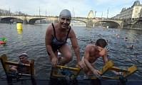 Czechs lead the way in winter swimming