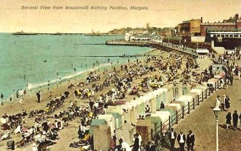 Bathing at Westonville Margate Swimming History