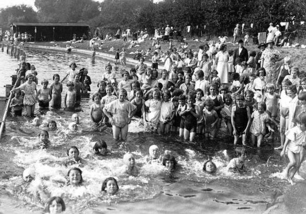 Wensum Park during the 1930s