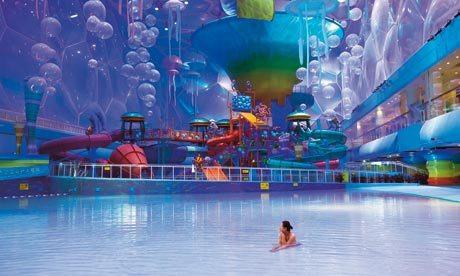 Happy Magic Water Park - Beijing's National Aquatics Centre