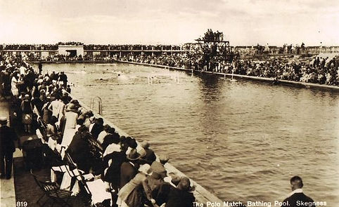 Polo Match at Skegness Bathing Pool