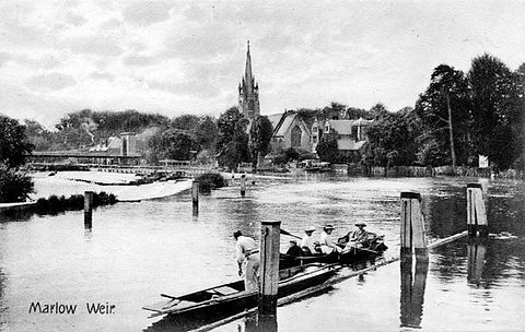 Marlow Bathing Place Swimming History