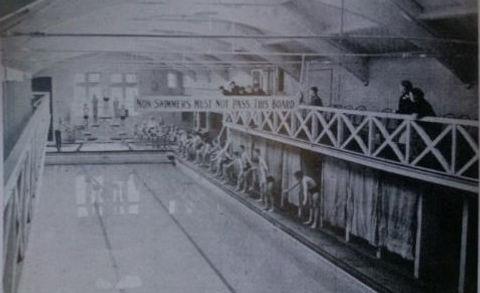 Public Bath, Cleckheaton. Swimming History