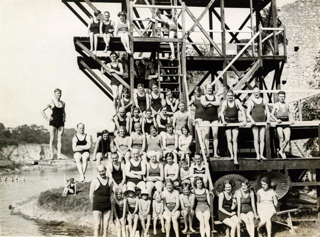 Henleaze Lake Bristol 1932 History
