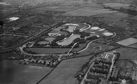 Queen's Park Lake Blackburn Swimming History